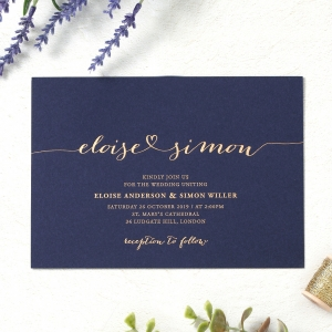 Personalised Wedding Invitations and Cards by B Wedding