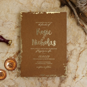 Rusted Charm Card