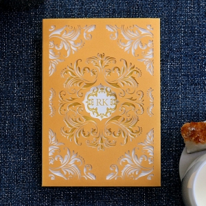 Victorian Extravagance Wedding Card Design