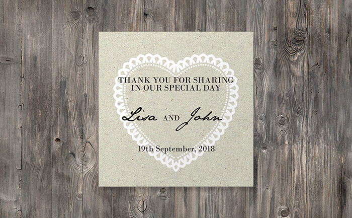 personalised stationery sets for your wedding day